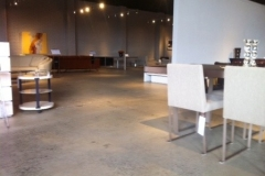 retail-shop-floor polished concrete