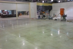 Retail Mechanically Polished Concrete, Footscray