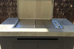 BBQ Benchtop- Nill Aggregate Exposure