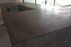 Polished Concret Benchtop