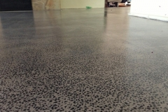 Exposed Aggregate Satin Coating